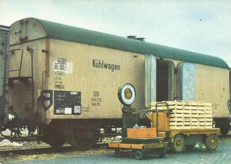 Spezialwagen für Kühltransporte