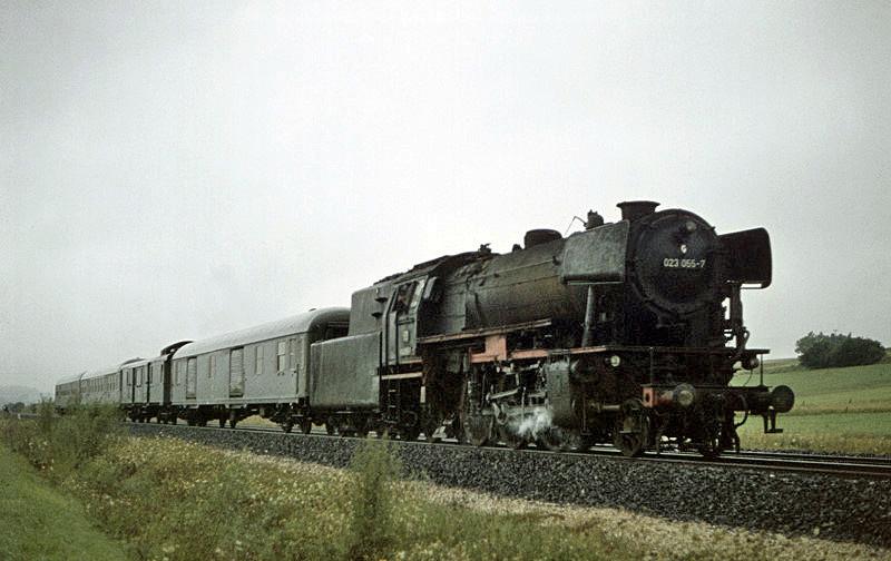1970: E1559 mit 023 055