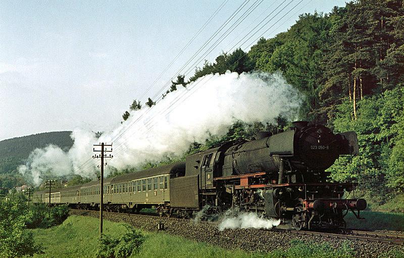 1970: E1909 mit 023 050