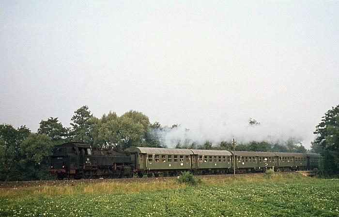 3331 (Rodach – Coburg) mit 086 174 am 28.7.1969