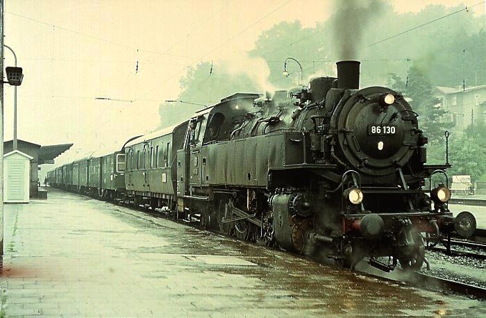P1049 (Coburg – Neustadt) mit 86 130 am 23.7.1968 in Coburg