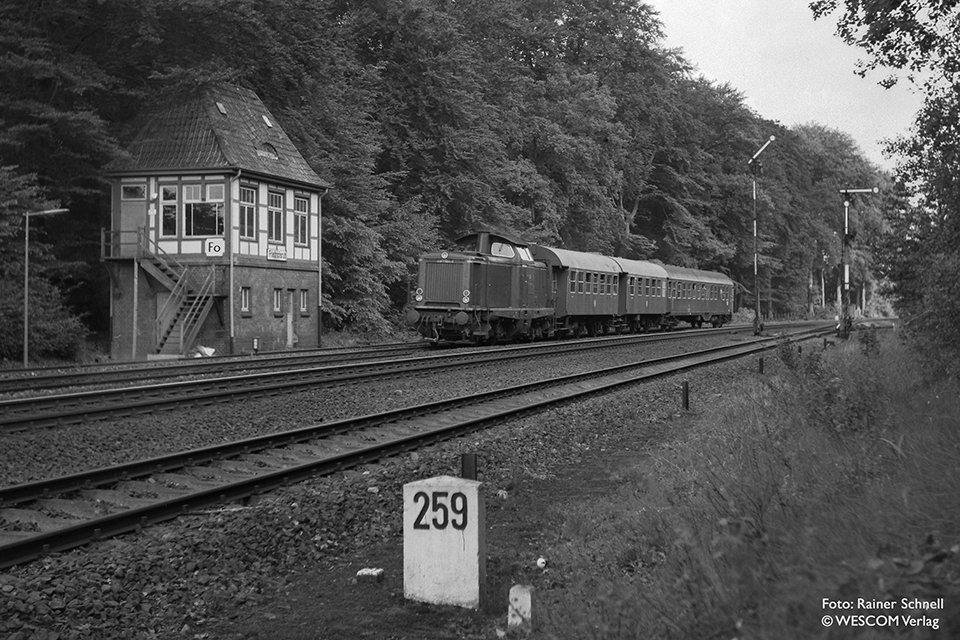 V100 am 07.06.1970 bei Friedrichsruh