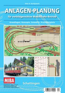 """Cover """"Anlagenplanung für vorbildgerechten Modellbahn-Betrieb"""""""