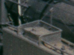 Wasserklappe der 78 385 mit Seilzug zur Fernbedienung